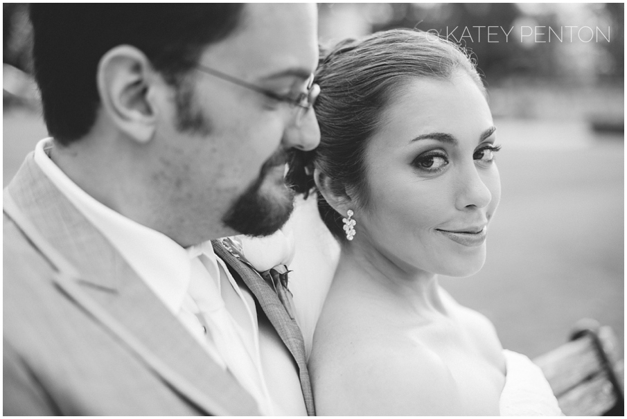 Bride and groom portraits, Downtown Norcross