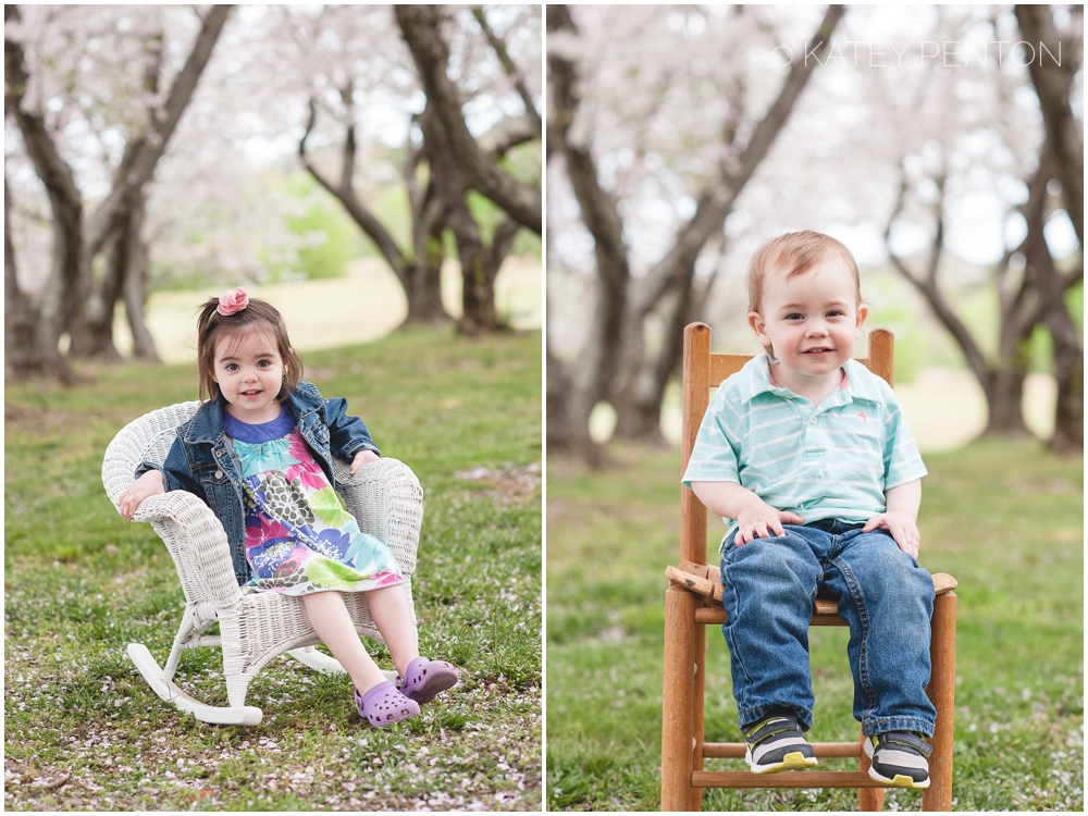 Conyers Cherry Blossom mini sessions, spring child portraits, Conyers photographer