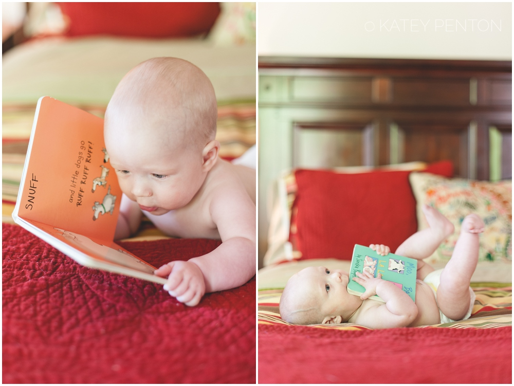 6 month baby, books, reading, read with your baby