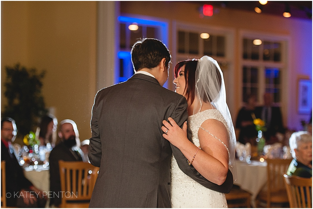Monroe country club wedding