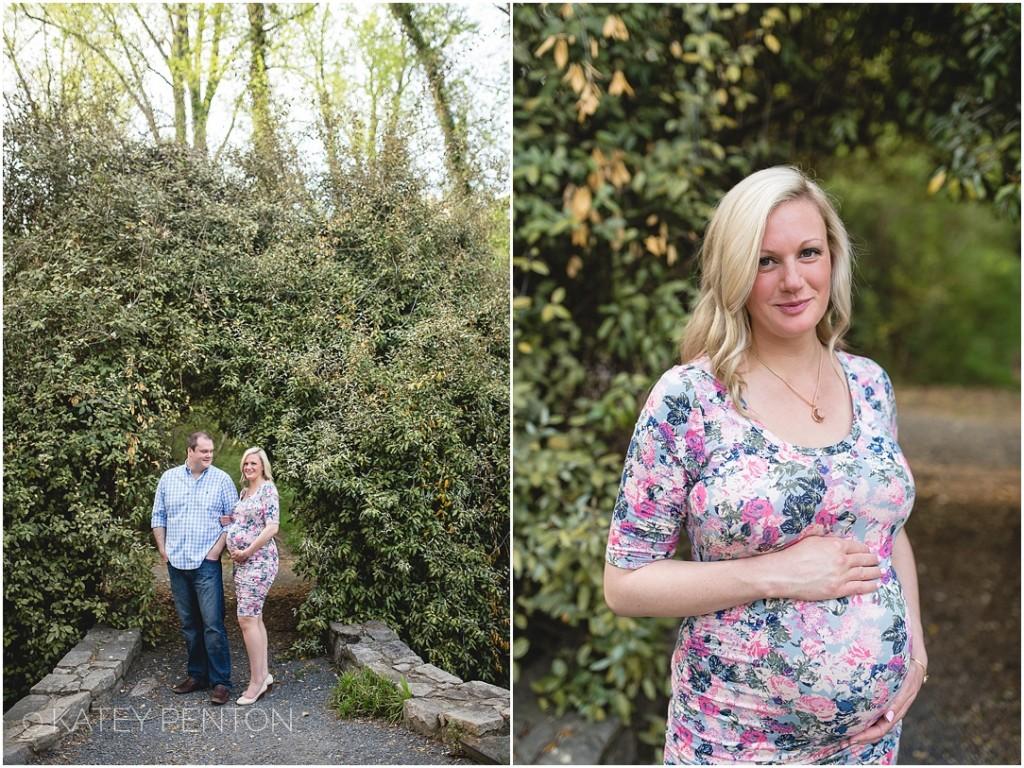 Spring maternity portraits in Decatur Atlanta GA