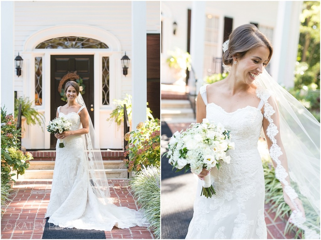 Flint Hill Norcross bridal portraits, cathedral veil, southern bride, wedding at Flint Hill, summer wedding