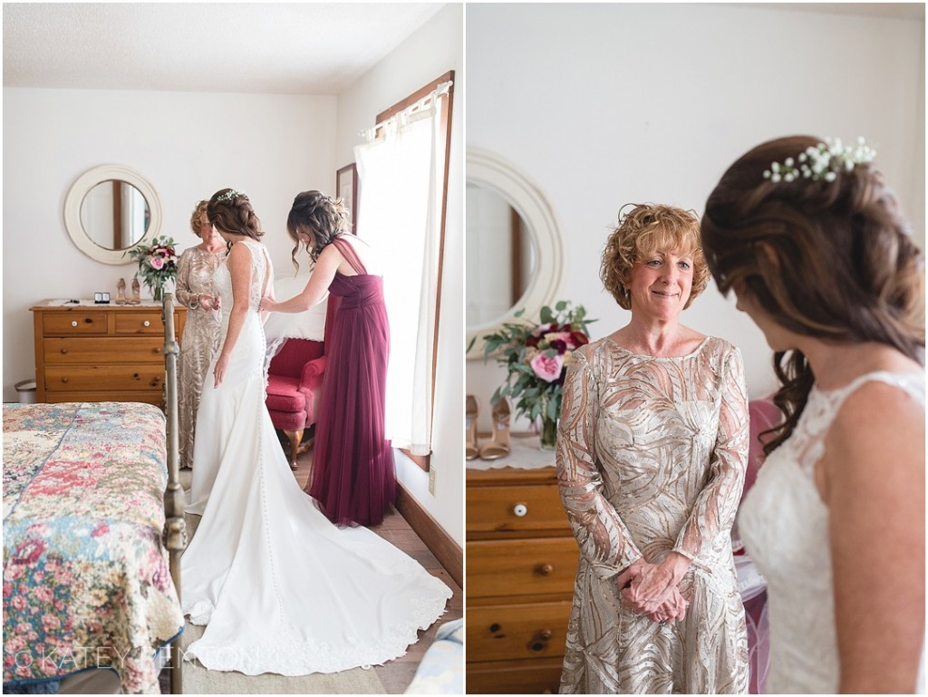 mother and daughter, bridal details, lace wedding gown, high neck wedding gown
